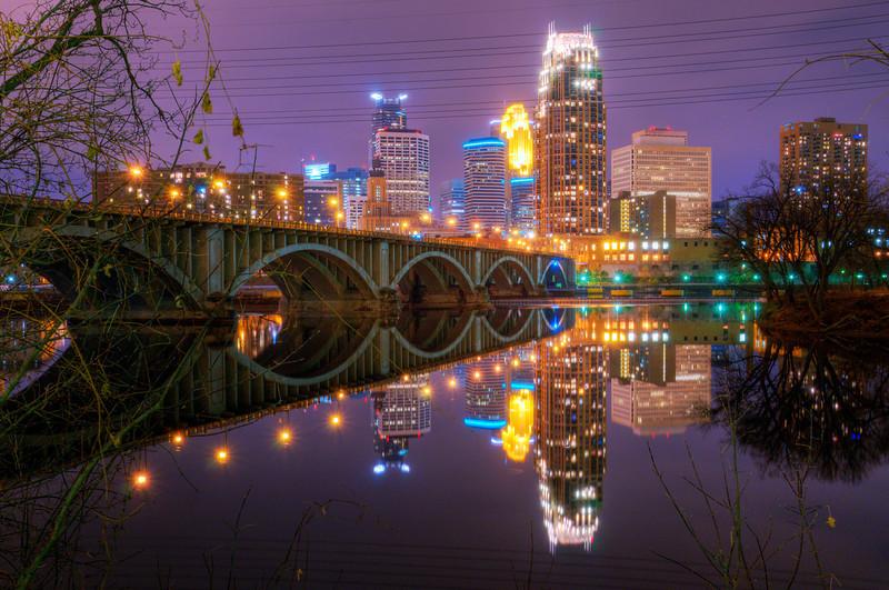 A Saturday night in Minneapolis