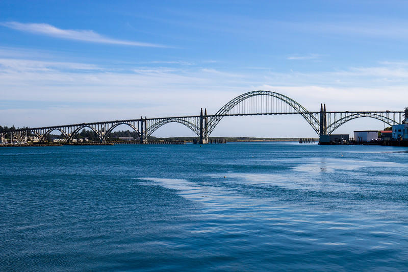 Yaquina Bridge ~ Newport, Oregon