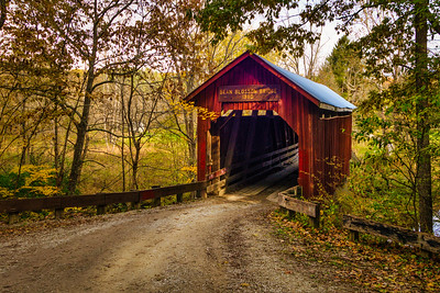 Bean Blossum Covered Bridge