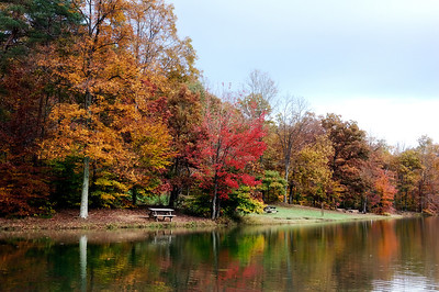 Autumn Reflections in Brown County State Park