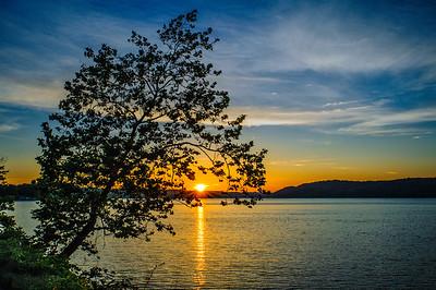 Sunset at Lake Lemon