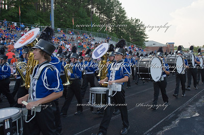 The sound of the Northwest Whitfield Blazing Blue at the Lambert game at Home Family Portraits
