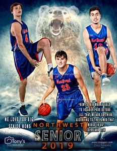 Dream Team Baskeetball Individual Template