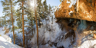 Mossy Cave, Outside Bryce Canyon