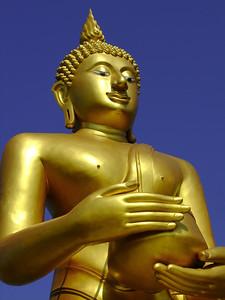 Standing Buddha, Wat Tha Ton, Chiang Rai