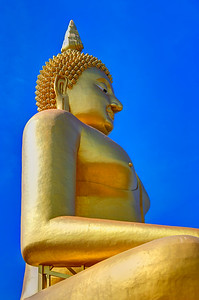 Giant Golden Buddha, Thailand (3)