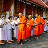 Chiang Rai, Wat Phra Sing, Temple  Procession (2)