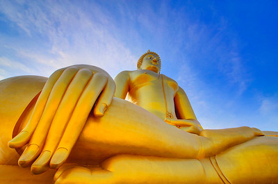 Giant Golden Buddha, Thailand (1)