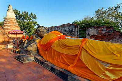Reclining Buddha Ayuthaya