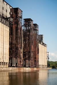 Three Elevators of Concrete Central, North
