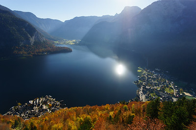 Hallstatt from above