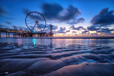 Scheveningen - Blue hour