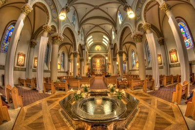 Cathedral Basilica of St. Francis of Assisi - Sante Fe, New Mexico