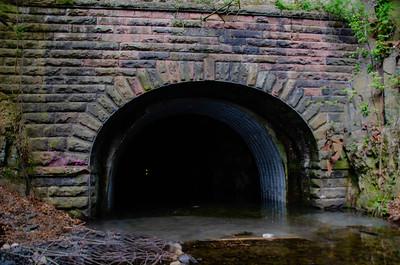 NYSW Railroad Tunnel - Edgewater, New Jersey