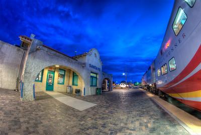 Sante Fe Train Station - Sante Fe, New Mexico