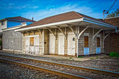 New York Susquehanna Railroad - Bogota Train Station, Bogota New Jersey