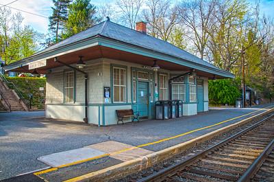 River Edge Train Station - River Edge