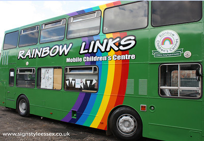 Rainbow Links Bus