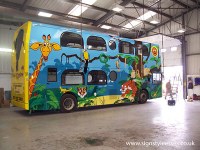 Jungle Bus at Lodge Coaches