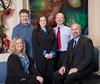 Professional shoot, for management, in a local business, having their group portrait photographed,  here near Salt Lake City, Utah.