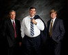 Business portrait of three individuals. boss man of a local company, here in Sandy, Utah.