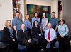 Professional group of individuals, having their group portrait taken, for their business here in Sandy, Utah.