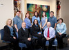 Professional group of individuals, having portraits done, in their corporation, near Salt Lake City, Utah.