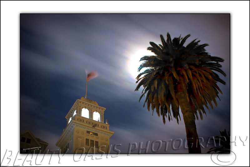 Super Moon over The Claremont Hotel