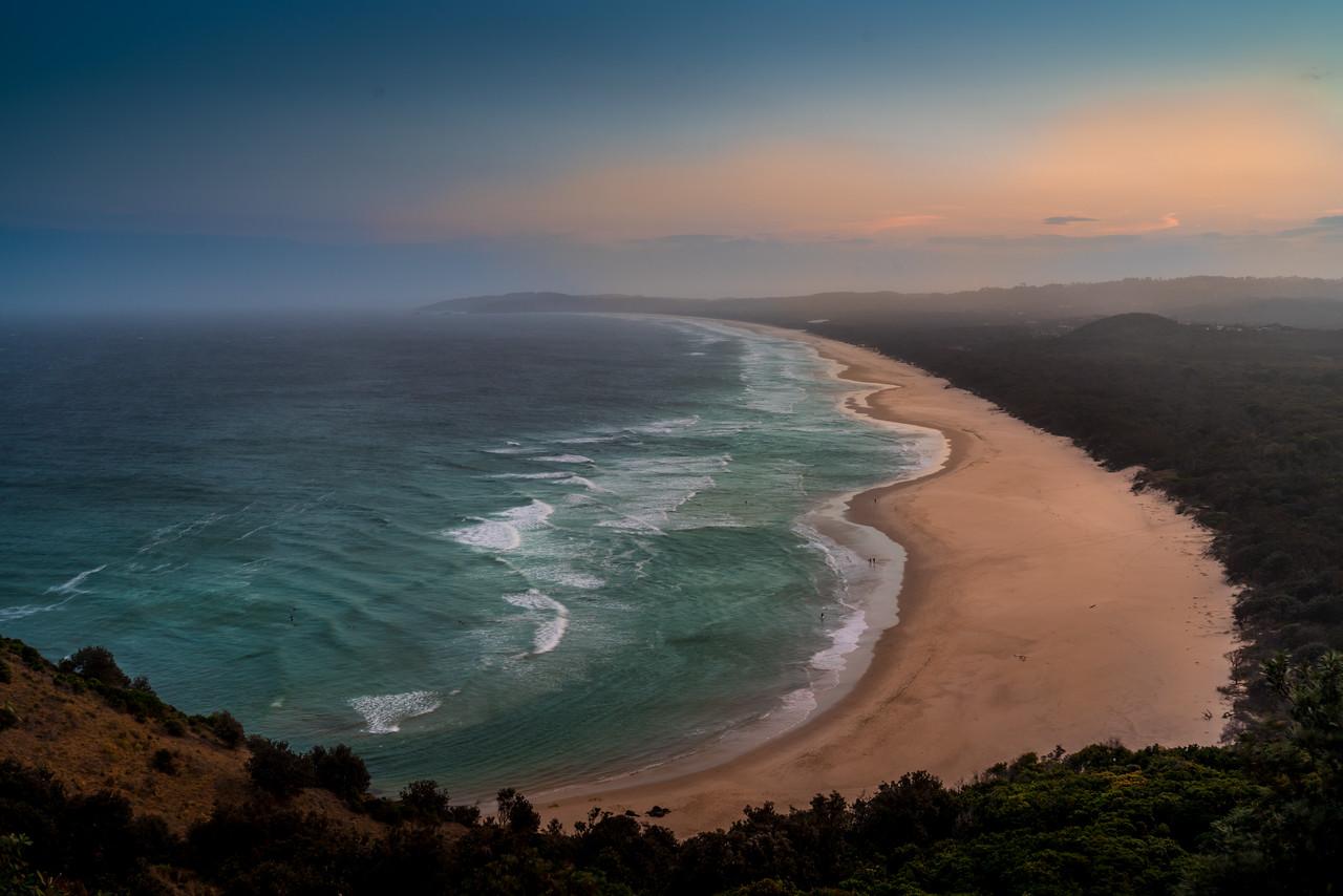 Tallow Beach Sunset