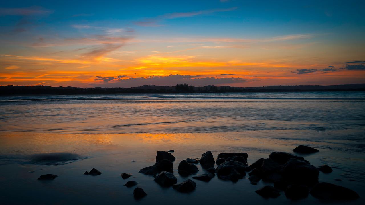 Byron Bay Main Beach Sunset