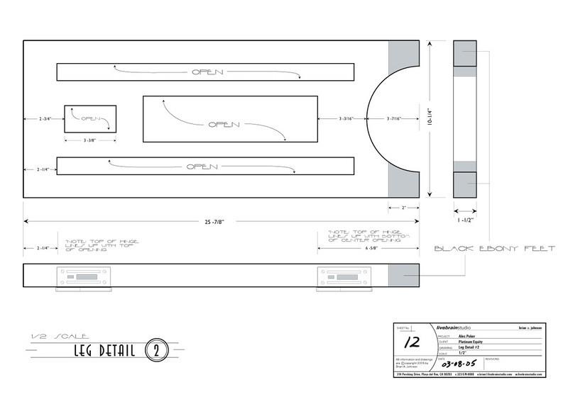 FURNITURE DESIGN   Illustrator<br /> Client: Platinum Equity