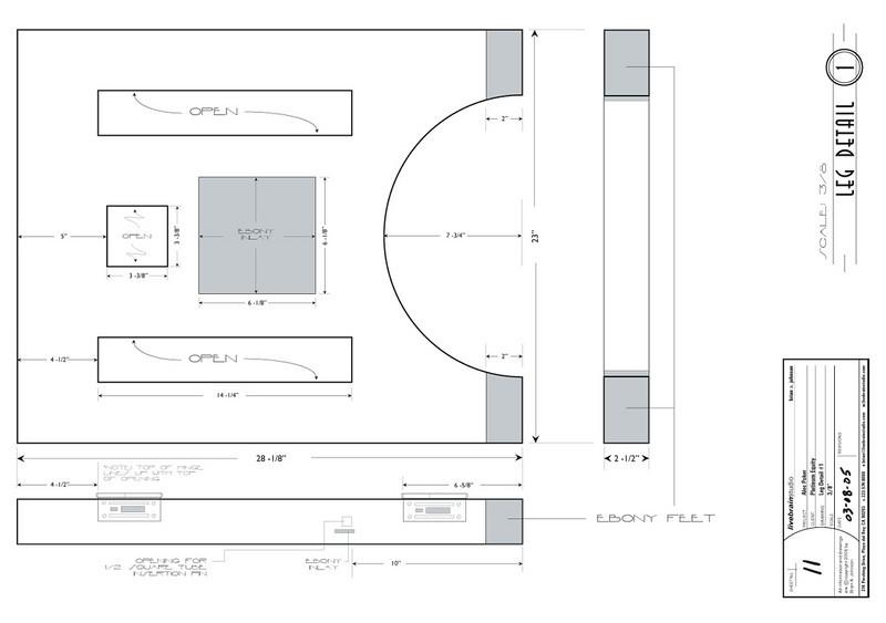 FURNITURE DESIGN | Illustrator<br /> Client: Platinum Equity