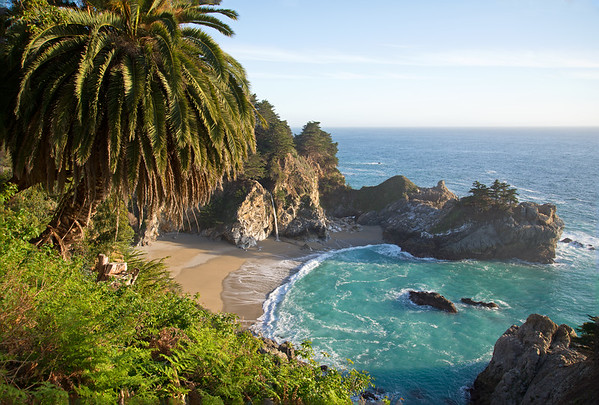 McWay Falls along the Big Sur coast.