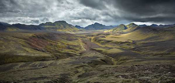 Torfakvis Valley, Iceland
