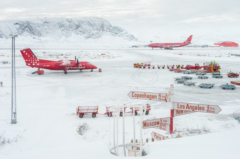 Kangerlussuaq Airport, Greenland