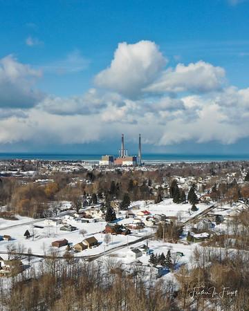 Niagara Mohawk Steam Generation Plant 8X10
