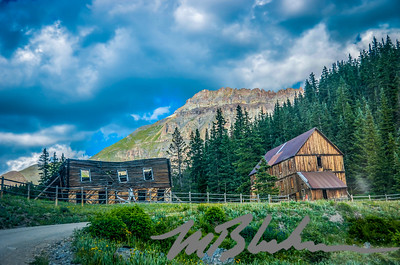 Ghost  Town near Alta Lakes