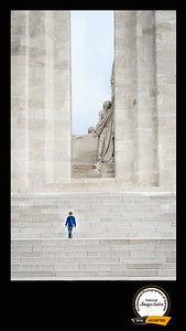 Generations Apart - Vimy Ridge Memorial, 2016 PPOC National Salon, Accepted Image