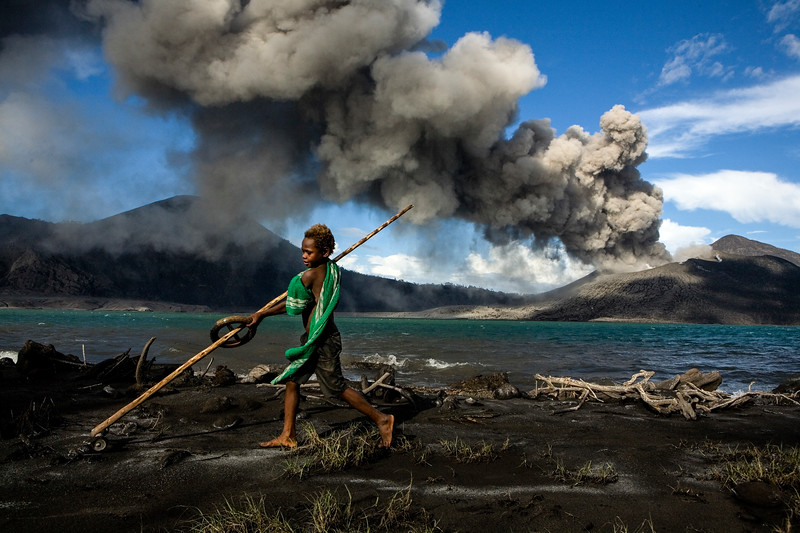 Daily Life in the Shadow of Tavurvur Volcano