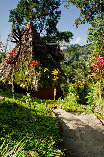 Our bungalow at Luna Lodge in the Peninsula de Osa.