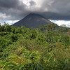 Arenal Volcano had long been one of the most active and consistently flowing volcanoes in the world but about 2 and a half years ago the lava stopped flowing and has not resumed since.