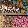 scene from a farmers market