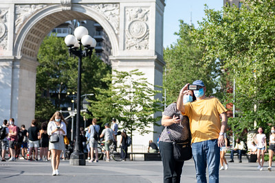 Daily Live in New York City amid the Coronavirus Pandemic as Phase 3 begins