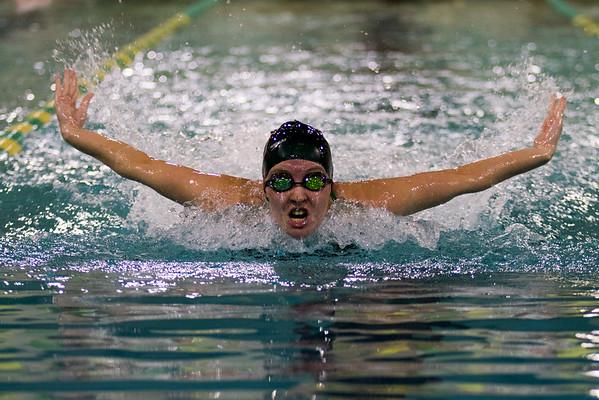 Clarkson Athletics: Men and Women Swimming vs. St. Lawrence