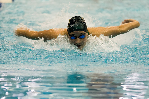 Clarkson Athletics: Men and Women Swimming at RIT for the liberty League Championships  Session 1: Friday Afternoon