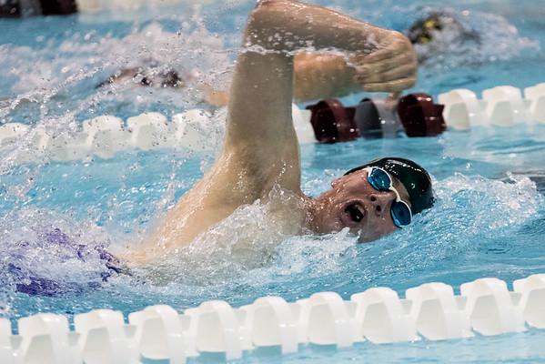 Clarkson Athletics: Swimming at NCI Day 1