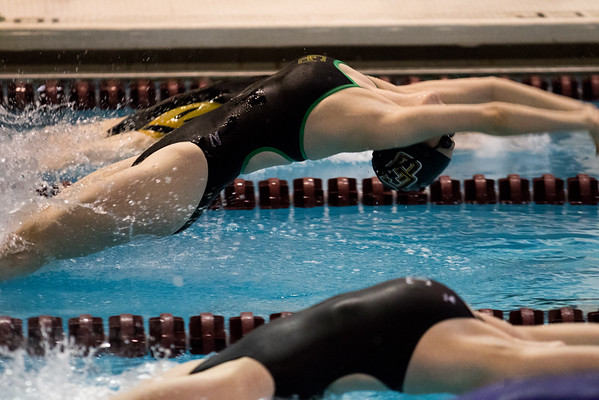 Clarkson Athletics: Swimming at NCI Day 1