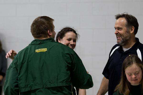 Clarkson Athletics: Home swim meet vs. Utica