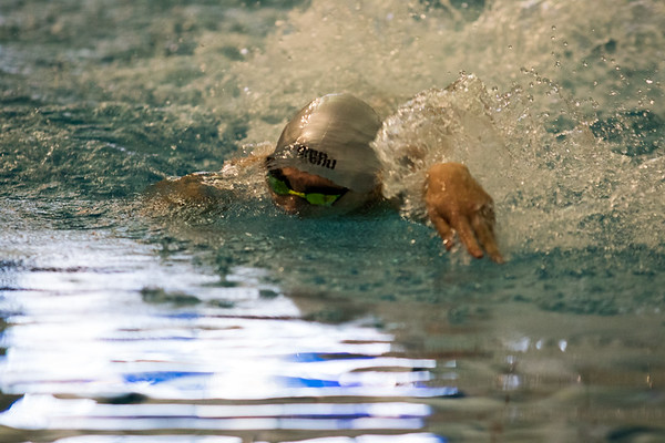 Clarkson Athletics: Men and Women swimming at UYNSCSA at Ithaca College.  Day 1 Finals