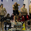 Clarkson Athletics: Men and Women swimming at UYNSCSA at Ithaca College.<br /> <br /> Day 1 Prelims
